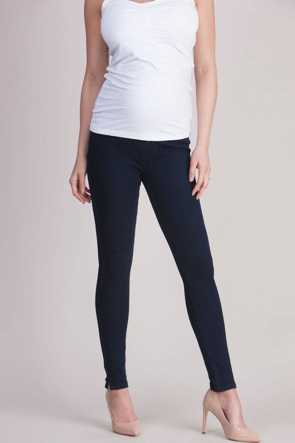 Seraphine Elis Skinny Over Bump Maternity Jeans - Seven Women Maternity