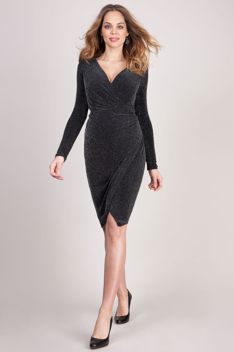 Seraphine Florence Sparkle Maternity & Nursing Dress - Seven Women Maternity