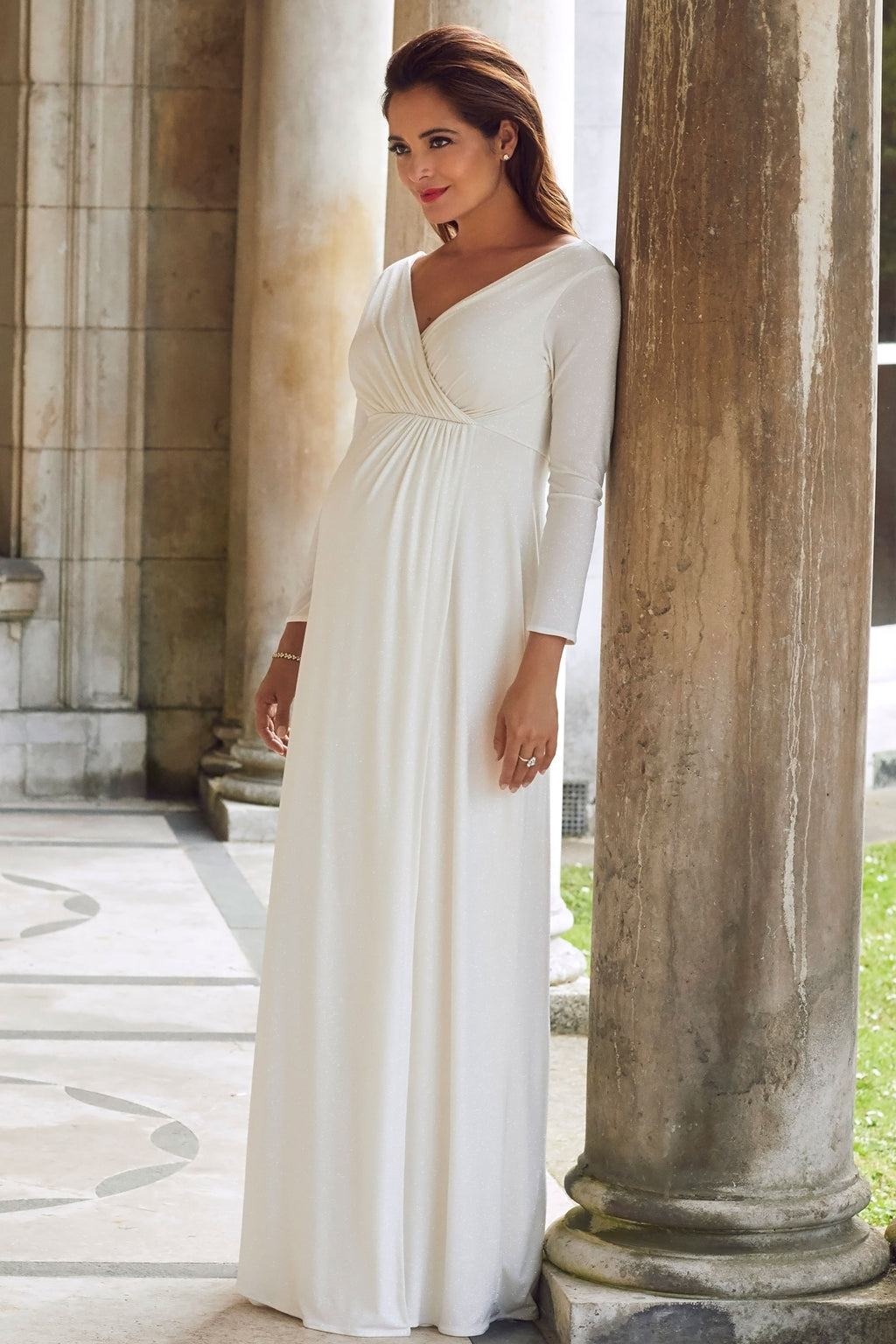 Tiffany Rose Isabella  Bridal Maternity & Nursing Gown in Ivory