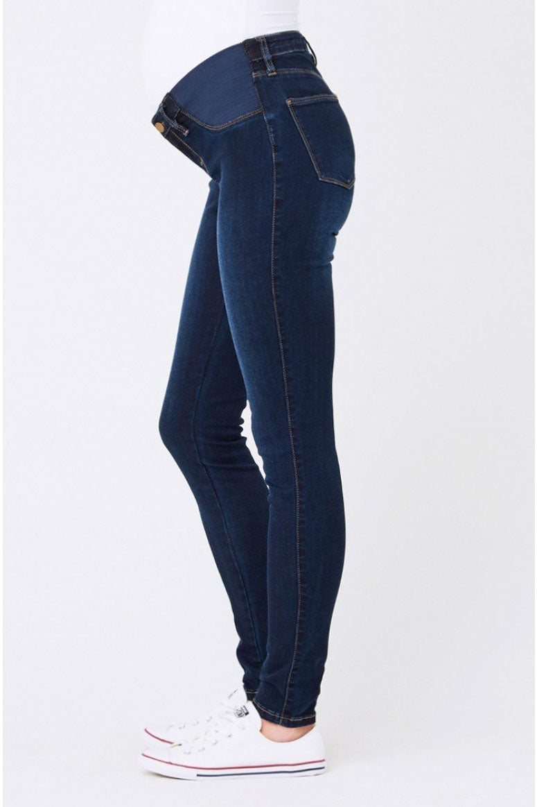 Ripe Isla Dark Blue Maternity Jeggings - Seven Women Maternity