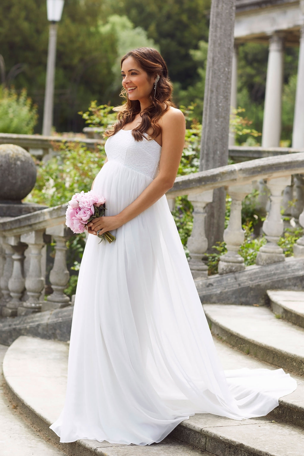 Tiffany Rose Julia Maternity Bridal Gown