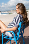 Seraphine Lovelle Nautical Maternity & Nursing Top - Seven Women Maternity