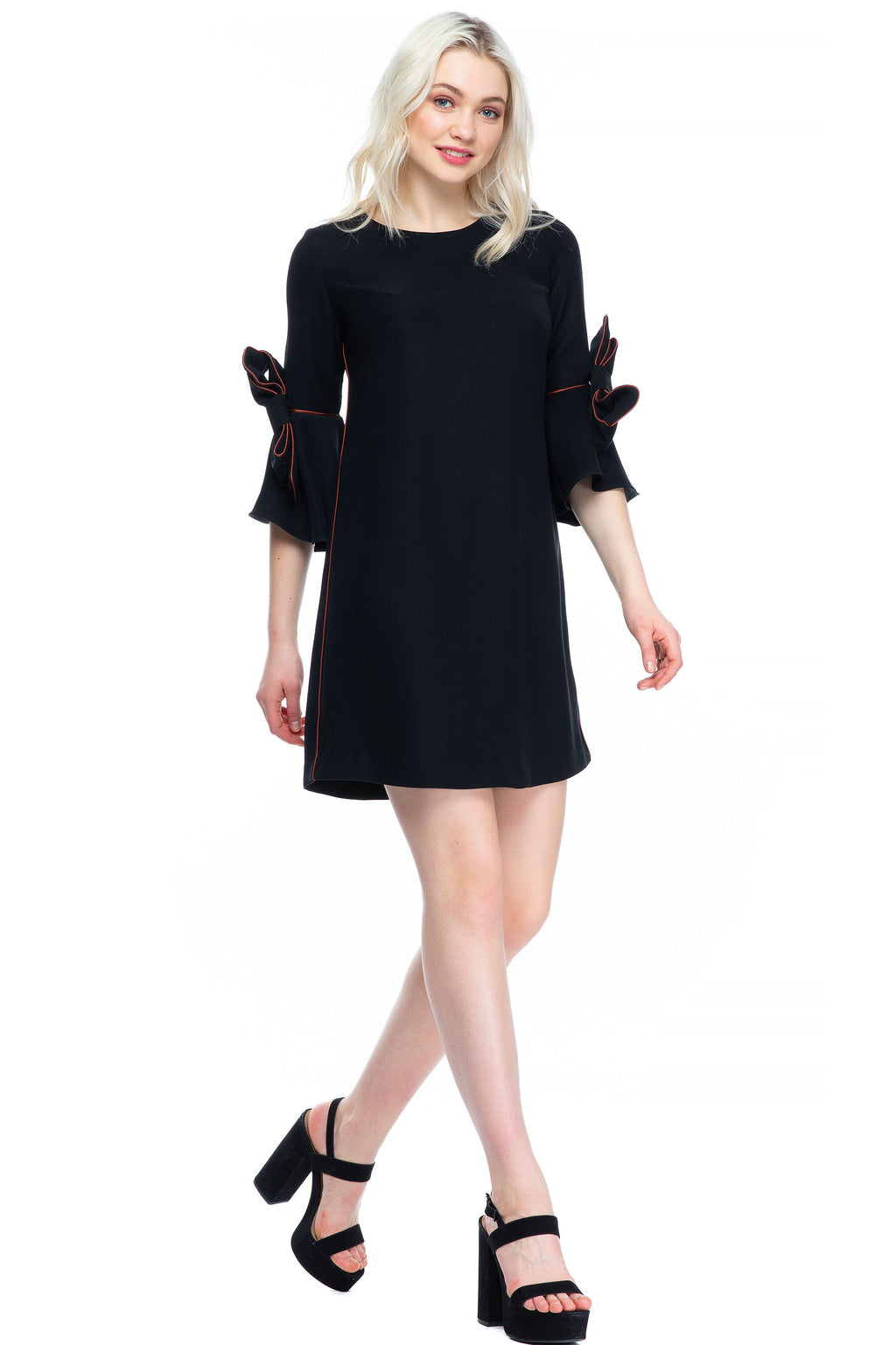 The Marlene Maternity Shift Dress Caviar
