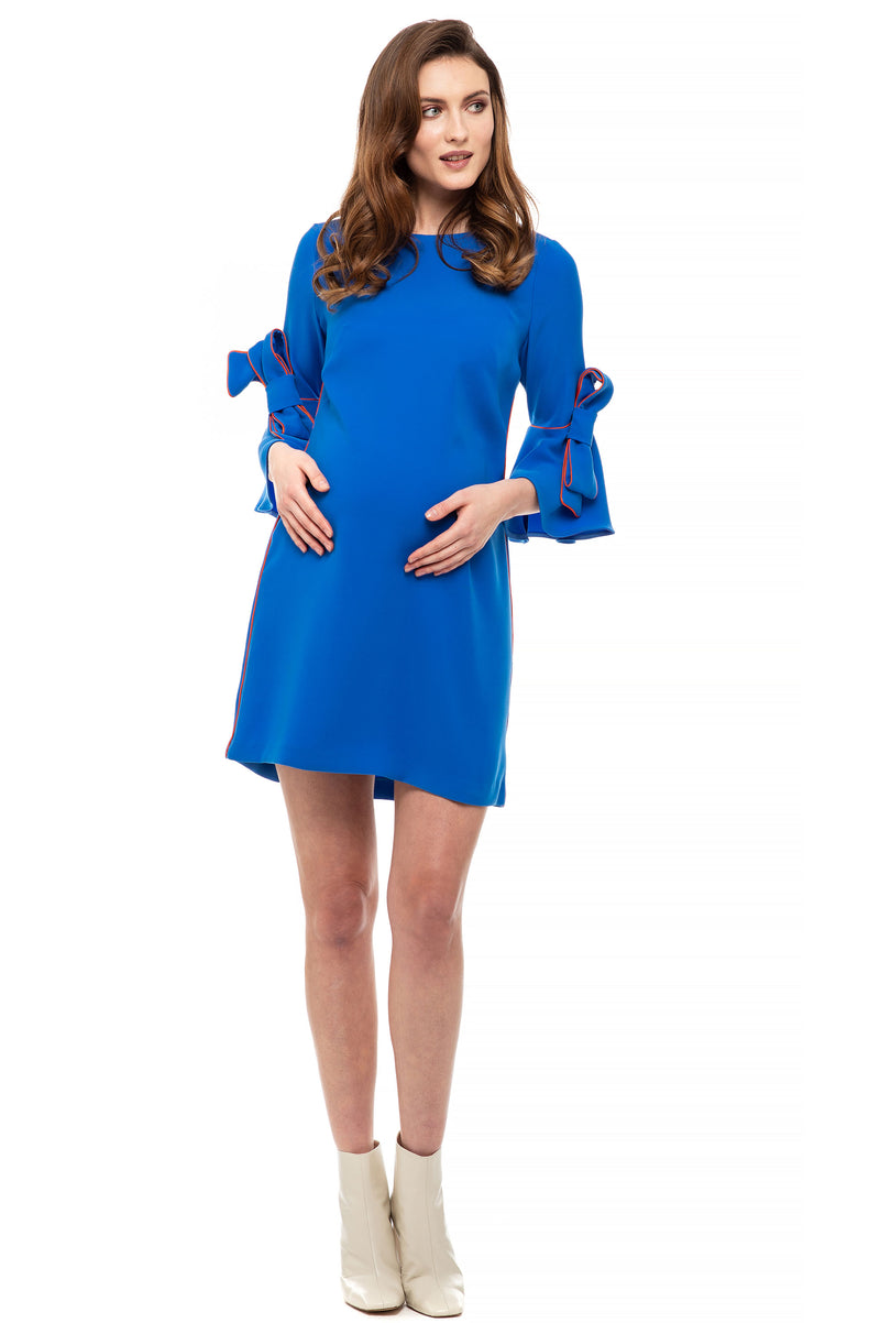 The Marlene Maternity Shift Dress Caviar - Seven Women Maternity