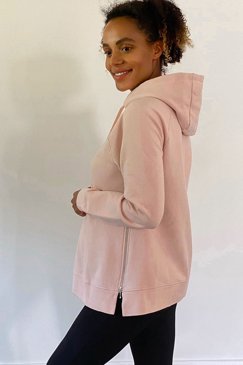 Mimi Organic Maternity Nursing Hoodie by Isabella Oliver