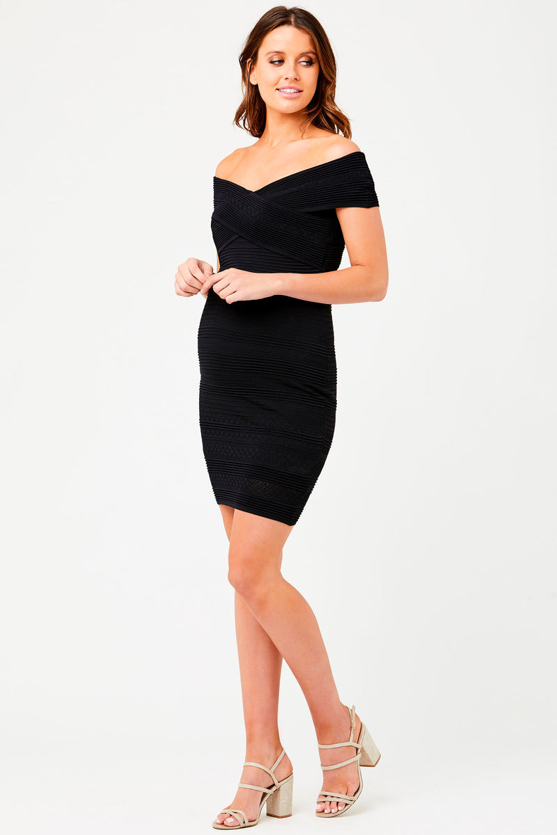 Tissaia Pointelle Knit Maternity Nursing Dress - Seven Women Maternity