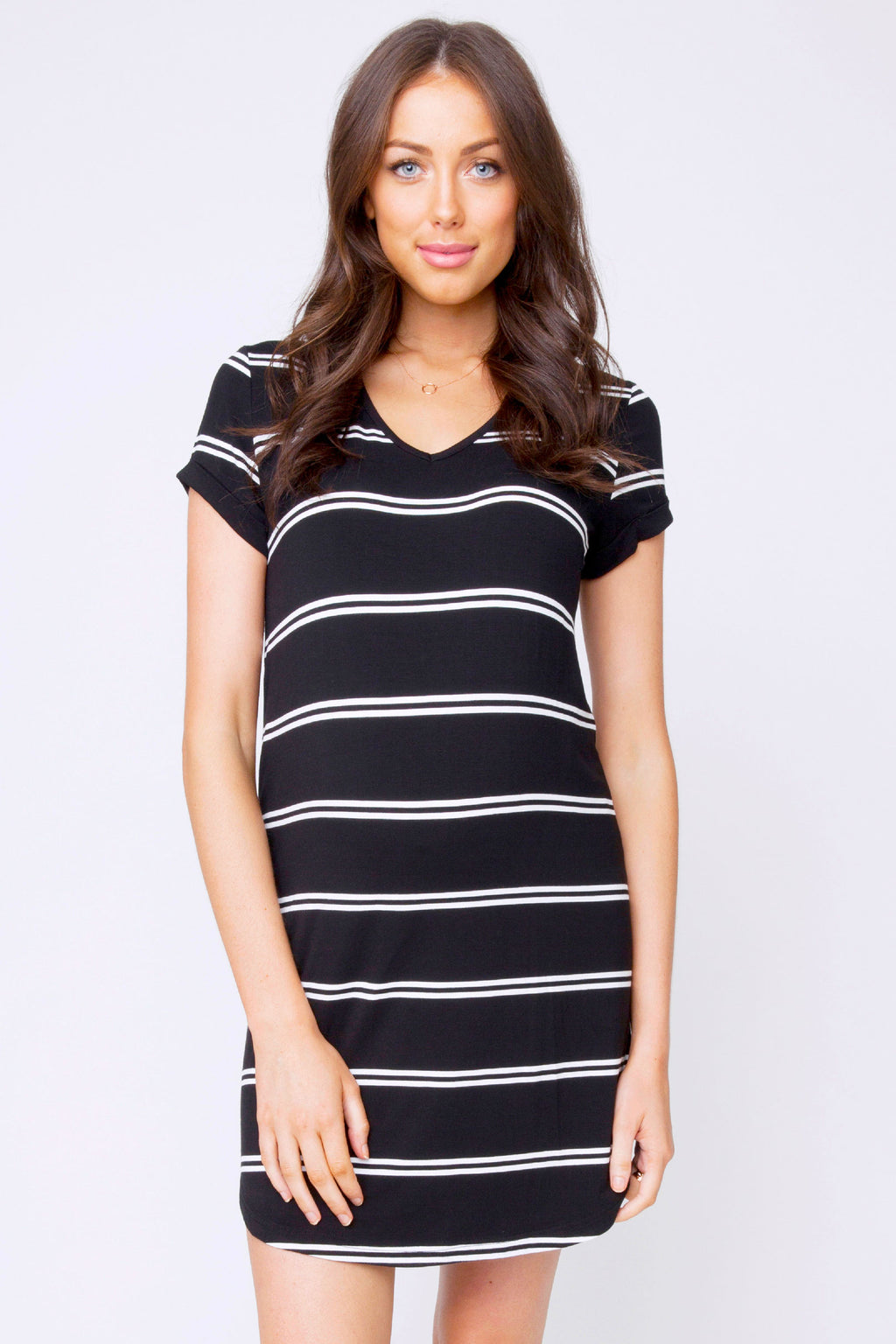 Renfri Relaxed T-shirt Dress by Ripe - Seven Women Maternity