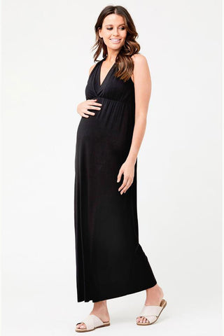 Georgie Stripe Maternity Nursing Dress Ripe