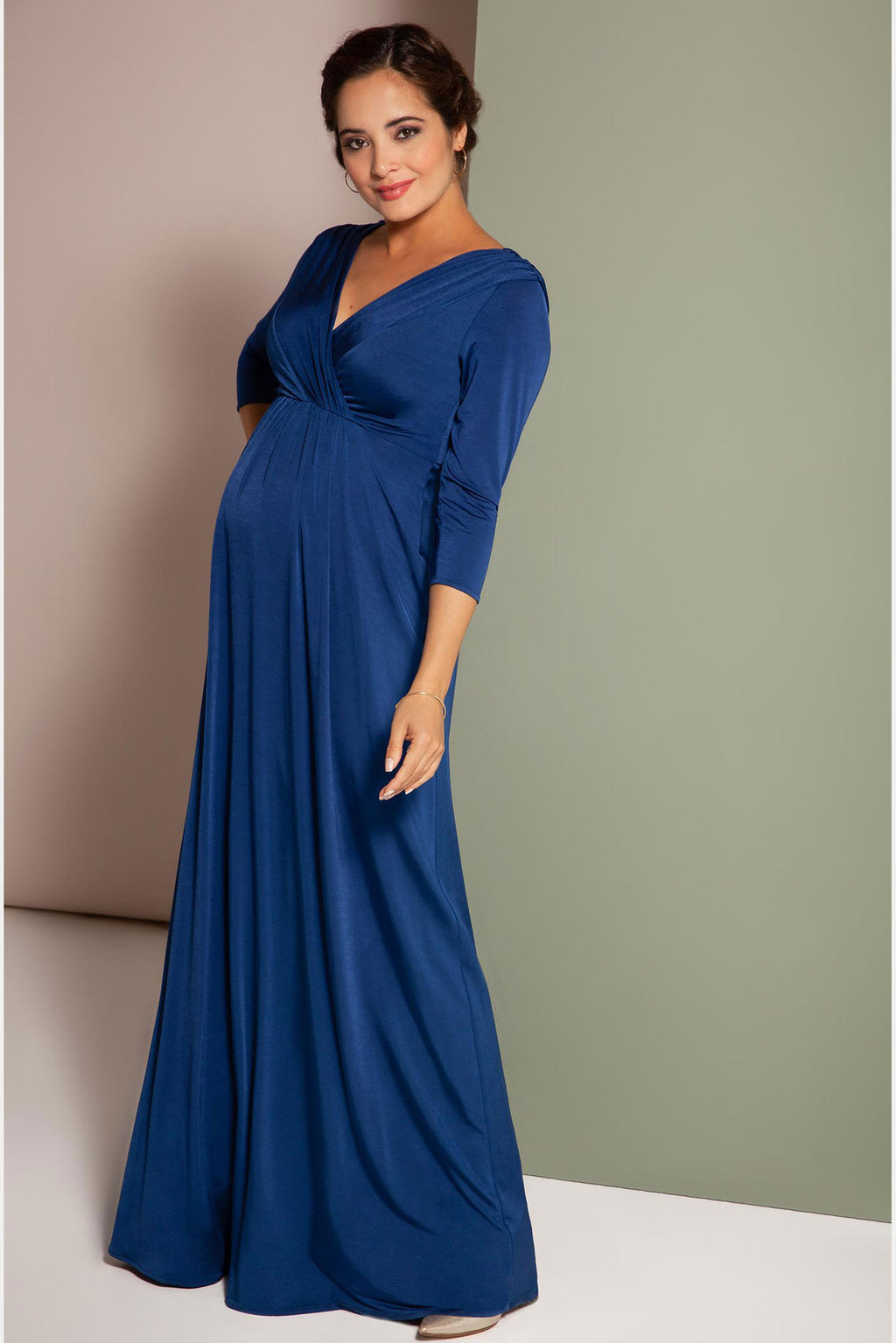 Tiffany Rose Willow Maternity & Nursing Gown - Seven Women Maternity