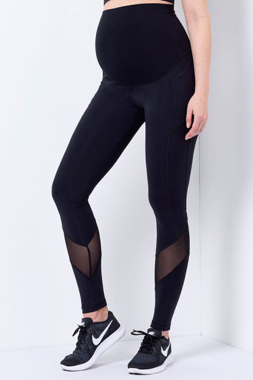 Ally Mesh Power Maternity Legging by Seraphine