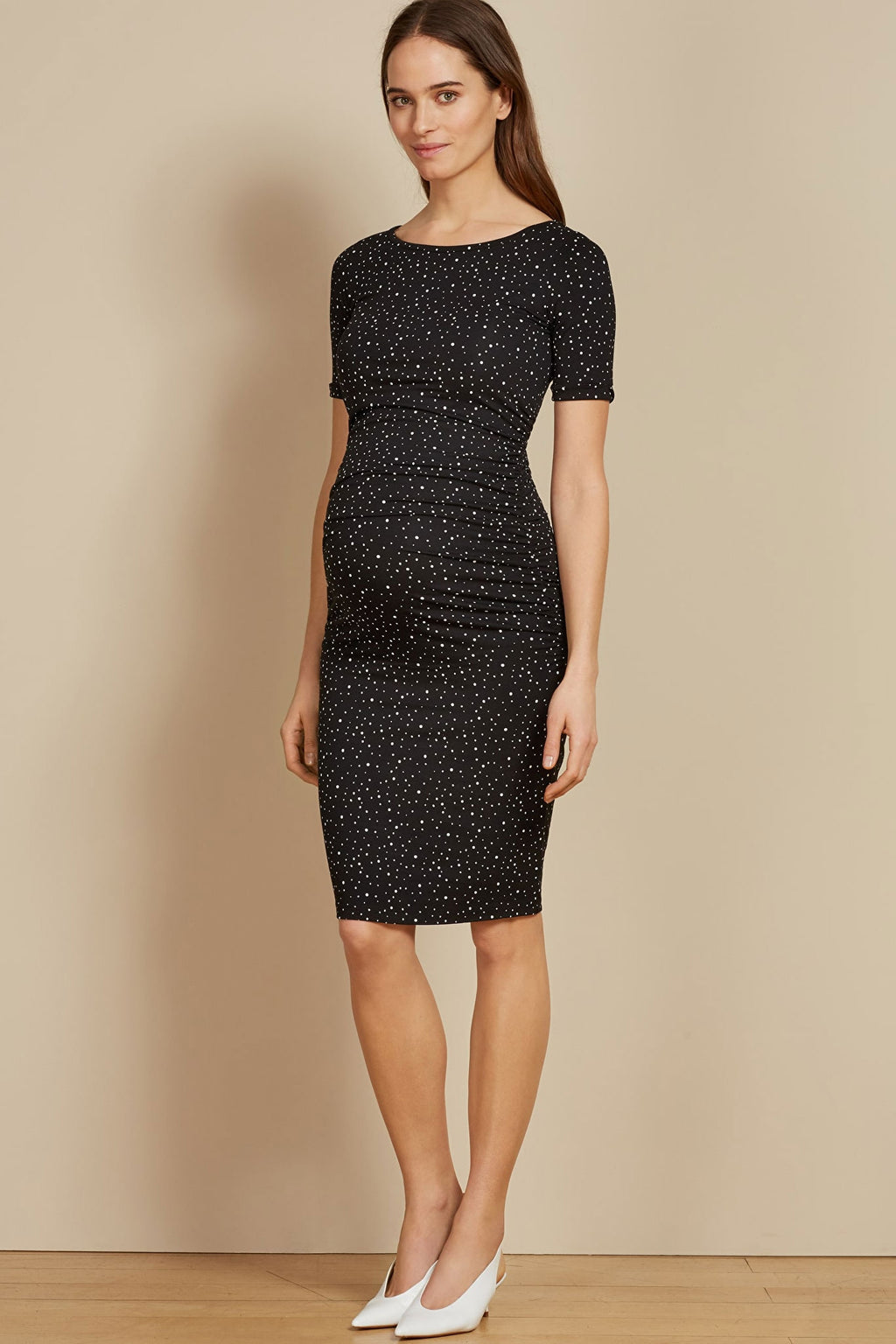 Isabella Oliver Amelie Cap sleeve Maternity Dress