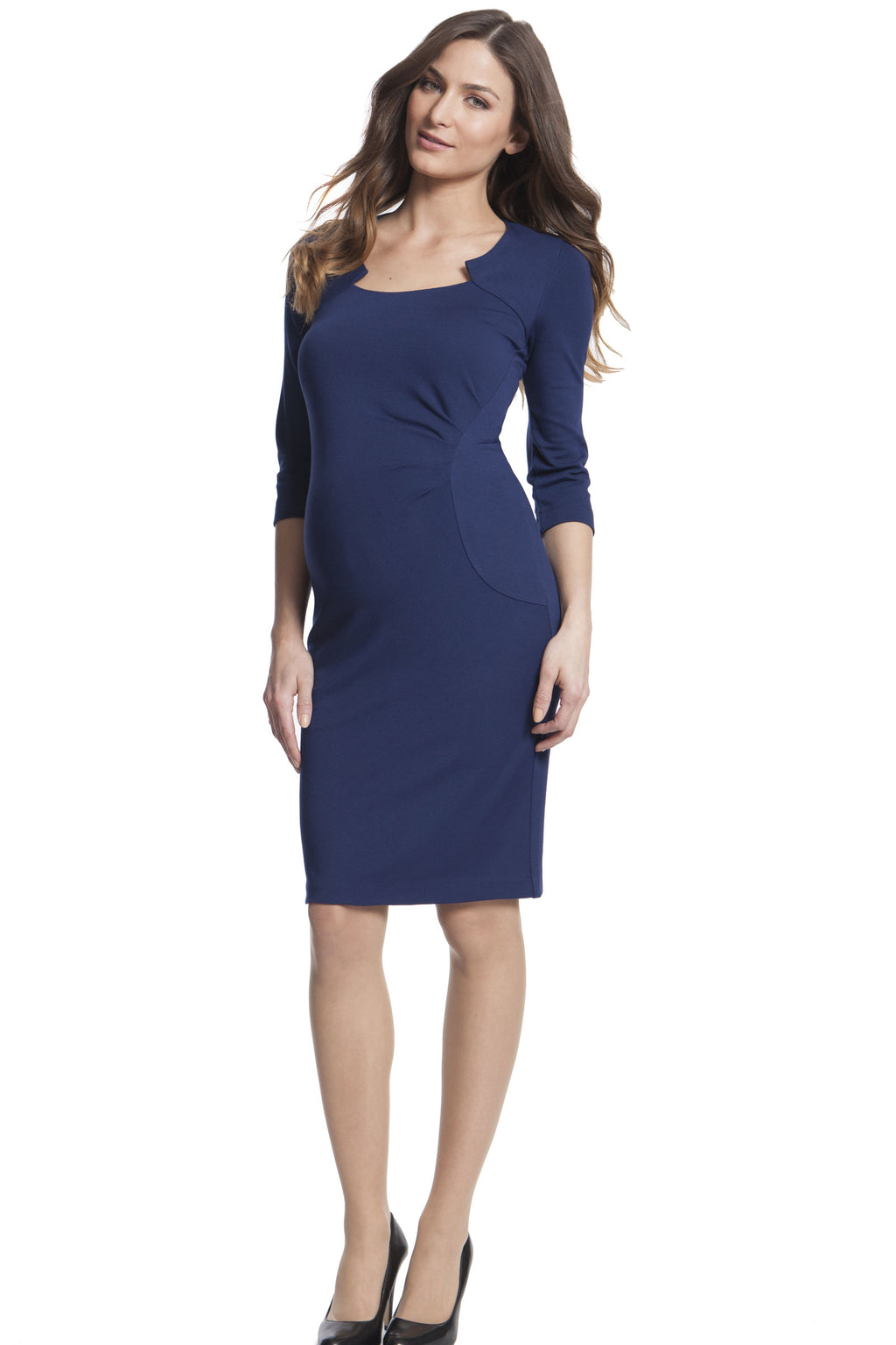 Seraphine Amoret Ponte Dress - Seven Women Maternity