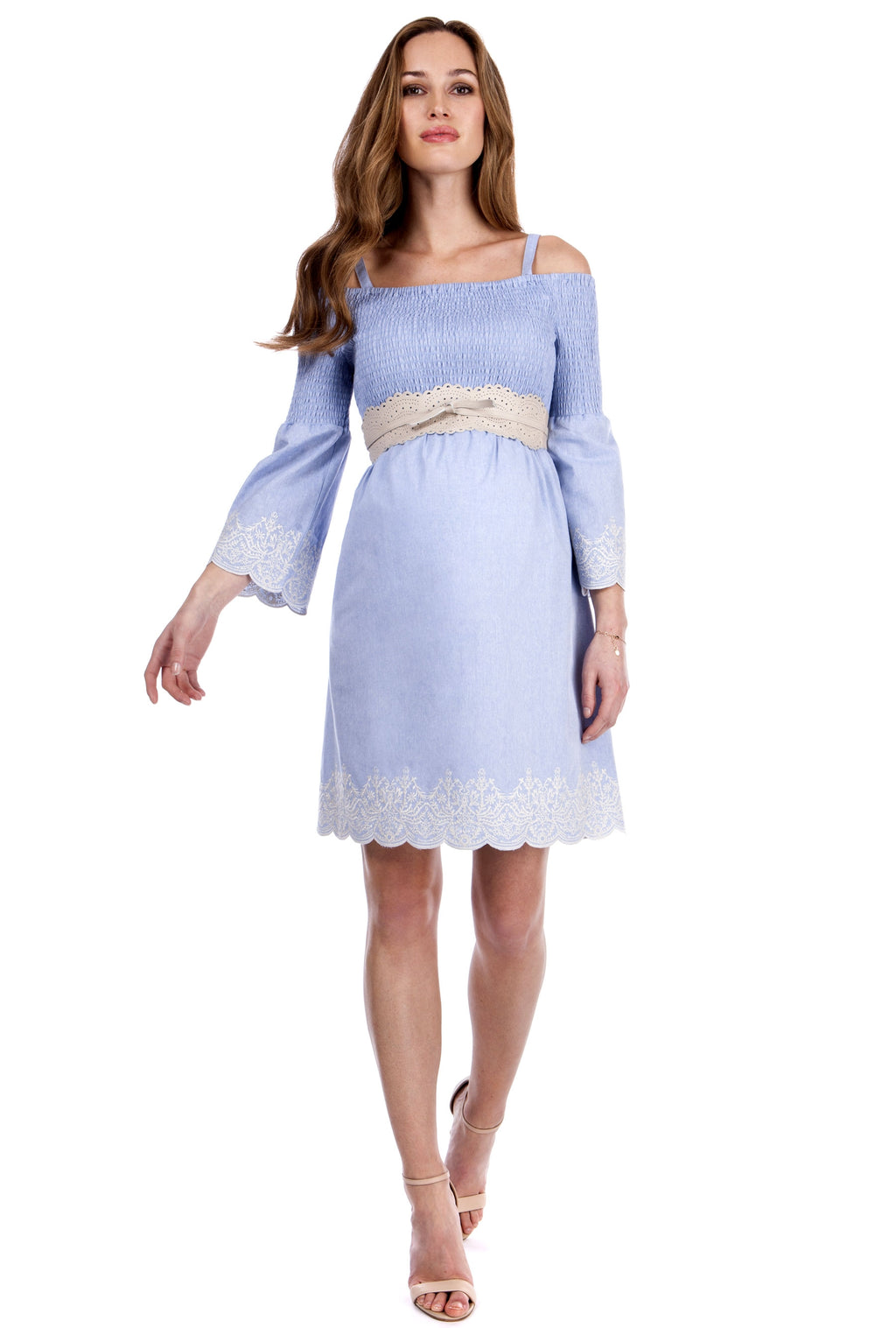 Seraphine Anais Maternity Cotton Dress