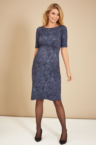 Maria Bow-Tie Maternity Dress