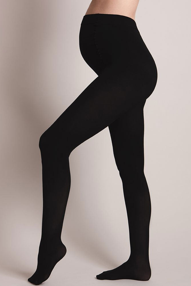 Seraphine Luxe Bamboo 300 Den Maternity Tights