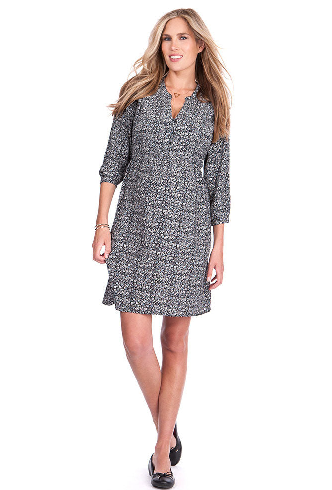 Seraphine Beatrix Maternity Nursing Dress - Seven Women Maternity