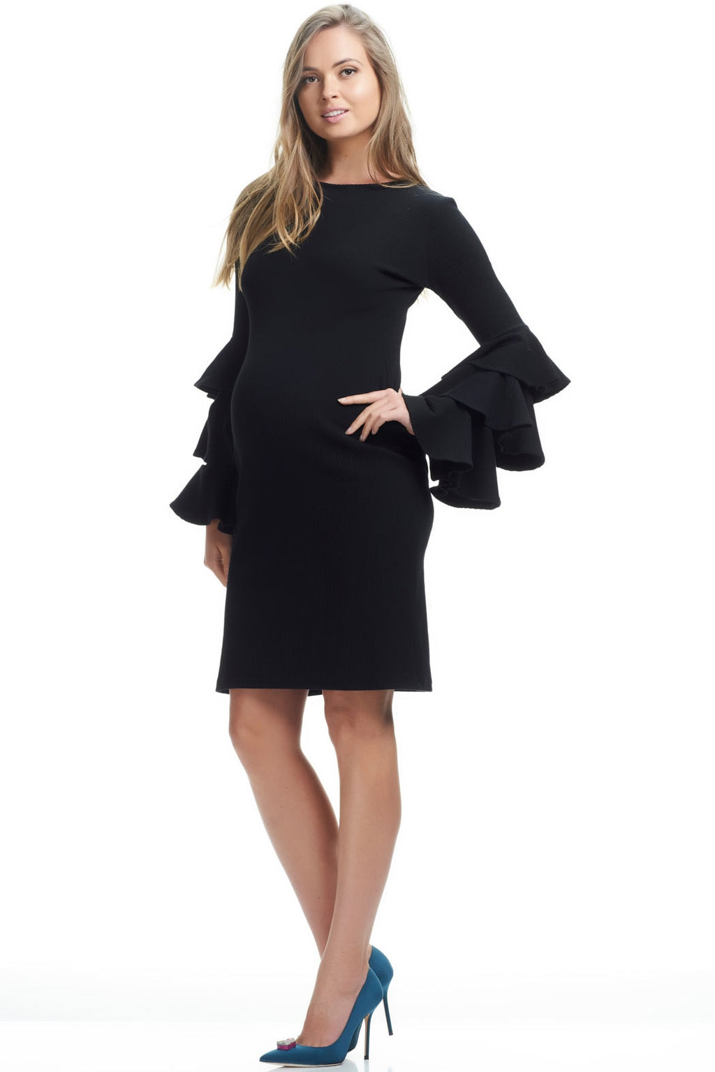 SOON Mei Hau Bella Sleeve Maternity Dress