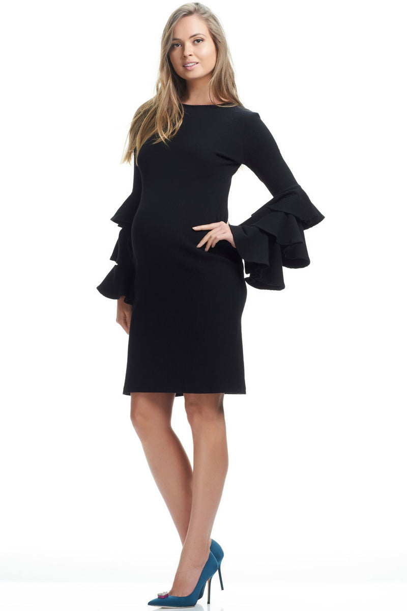 SOON Mei Hau Bella Sleeve Maternity Dress - Seven Women Maternity