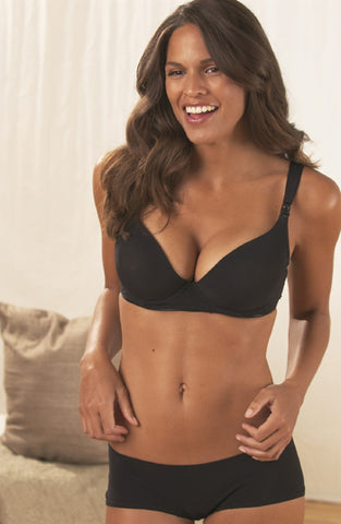 Strapless Bandeau in Black by Ripe