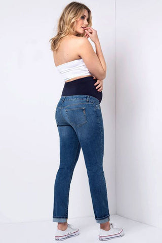 Ripe Isla Dark Blue Maternity Jeggings