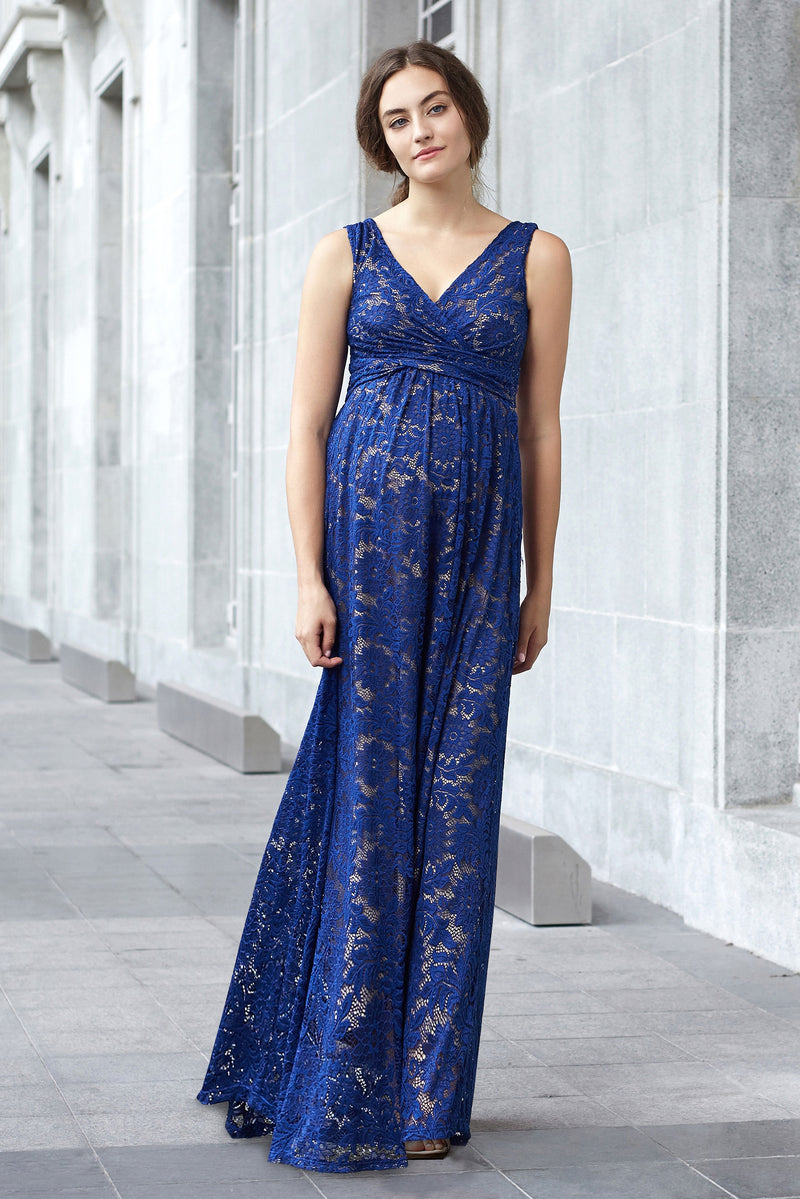Chantilly Lace Maternity & Nursing Maxi by MEV - Seven Women Maternity