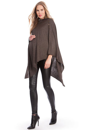 Madison Bamboo Knit Maternity Nursing Shawl