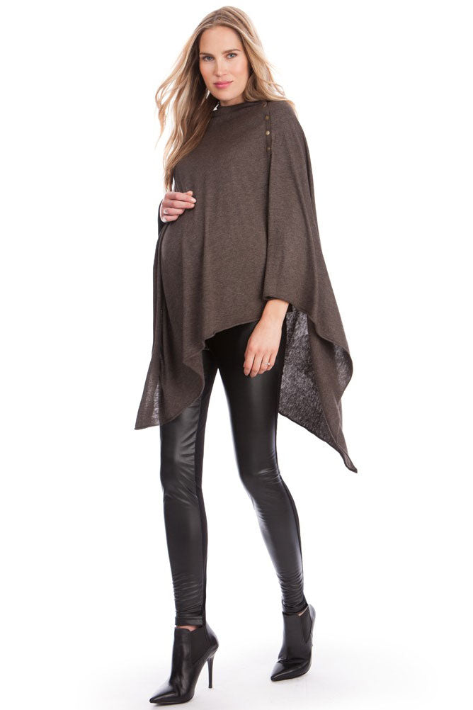 Madison Bamboo Knit Maternity Nursing Shawl - Seven Women Maternity