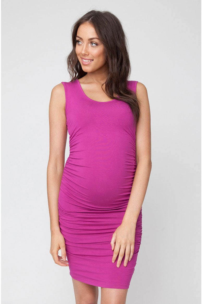 Cocoon Tank Dress in Jewel by Ripe - Seven Women Maternity