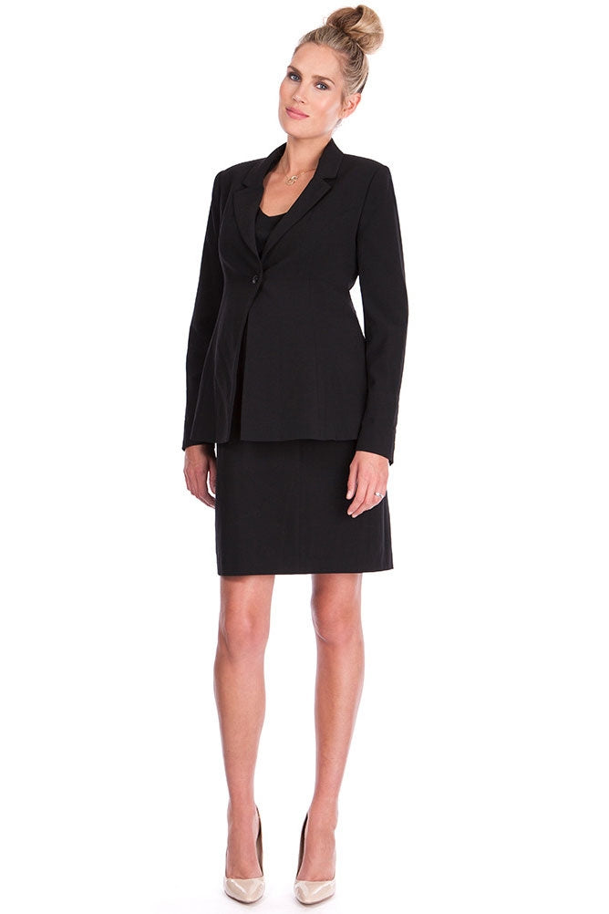 Seraphine Cadence Maternity Ponte Career Suit Jacket - Seven Women Maternity