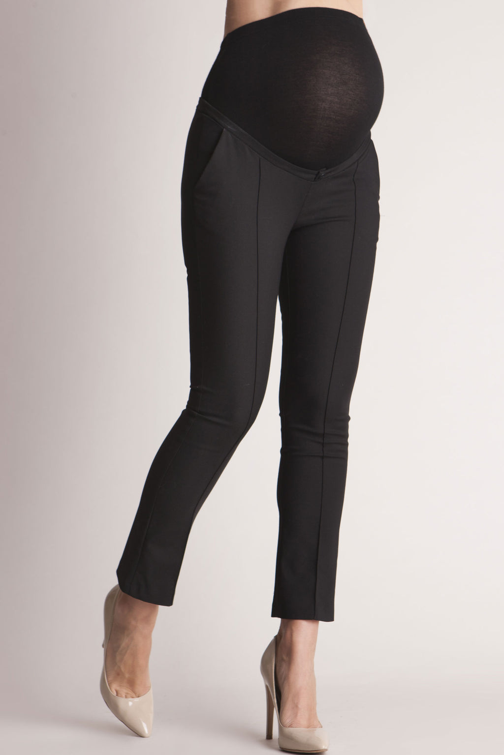 Seraphine Cressida Cropped Maternity Pants