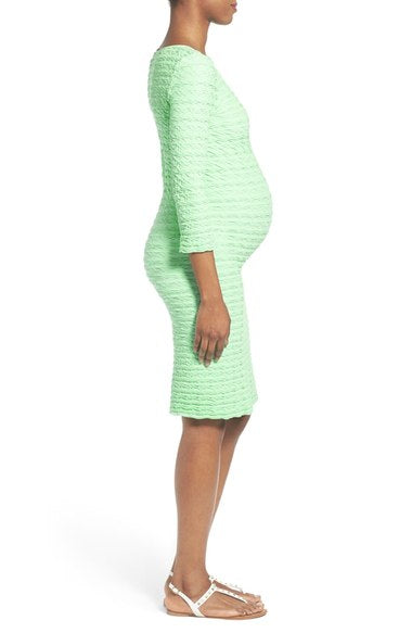 "Texture ""Groove"" Maternity Non-Maternity Dress Tees by Tina"