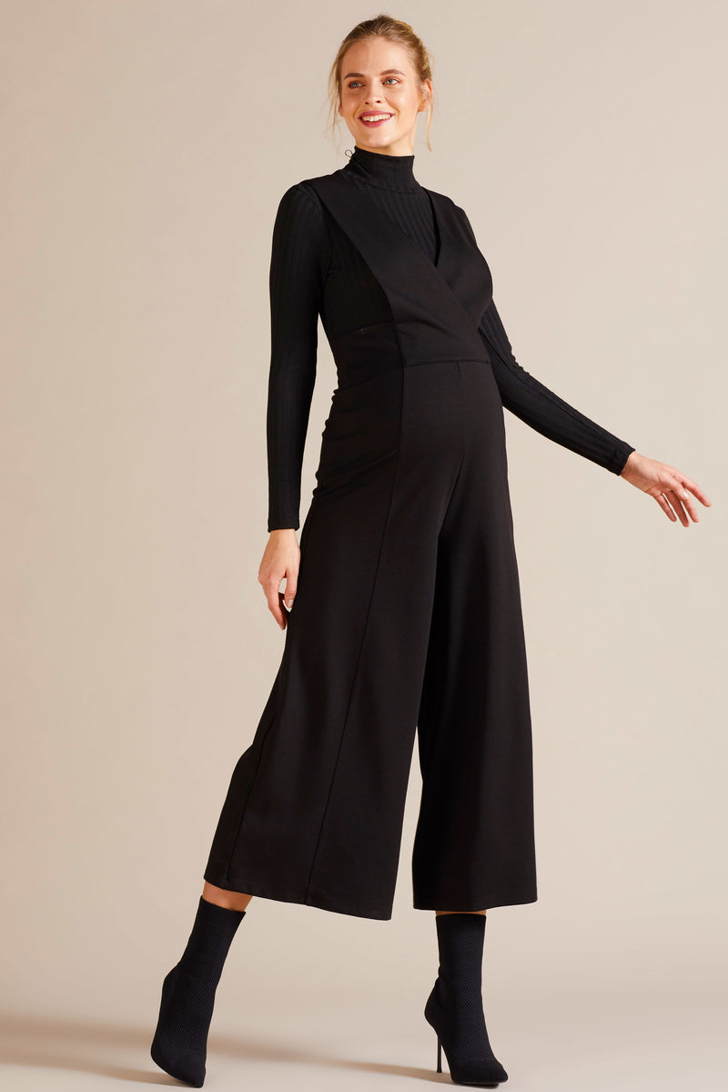 Crop Overall Trousers by Gebe - Seven Women Maternity
