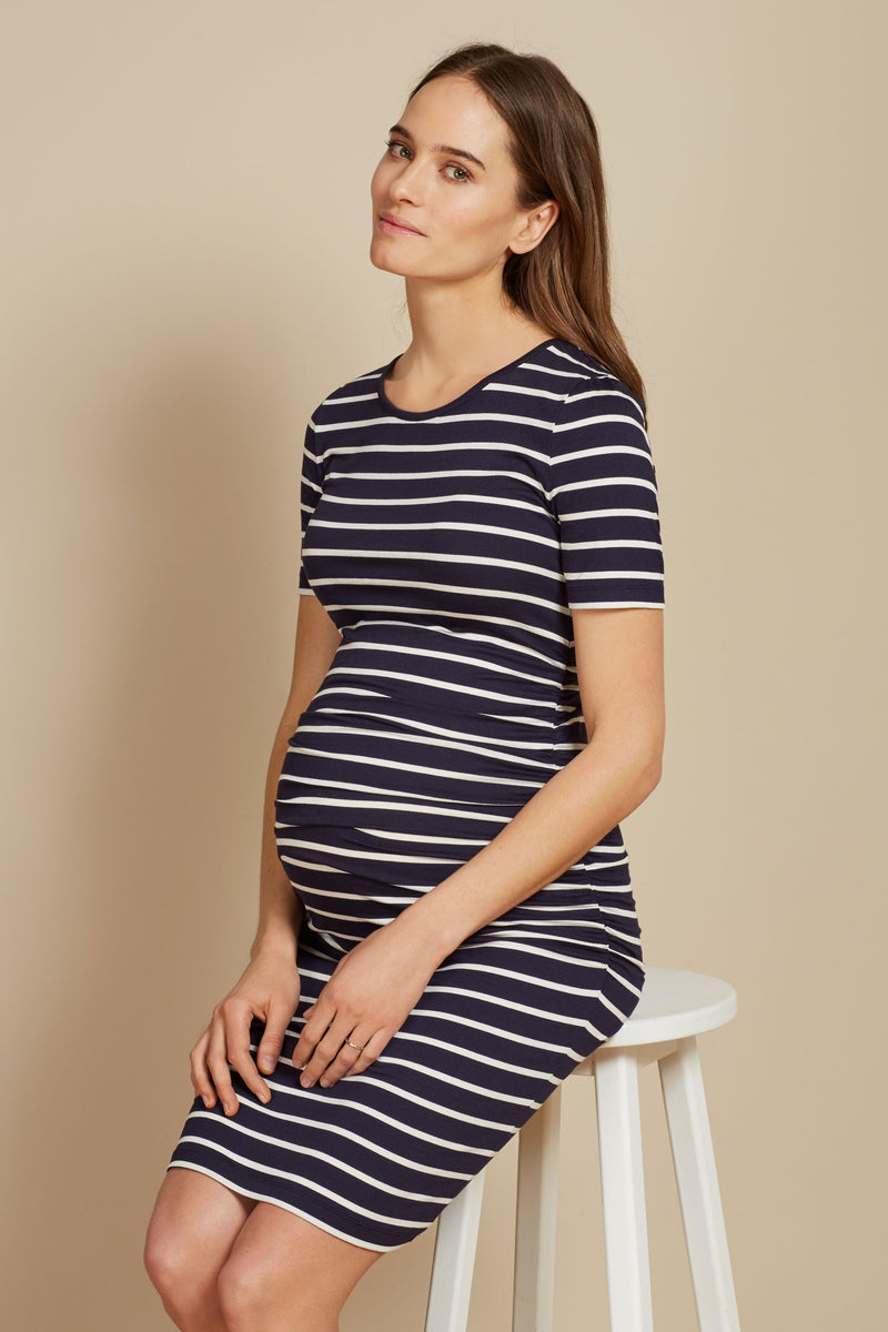 Isabella Oliver Daisy Cap sleeve Maternity Dress - Seven Women Maternity