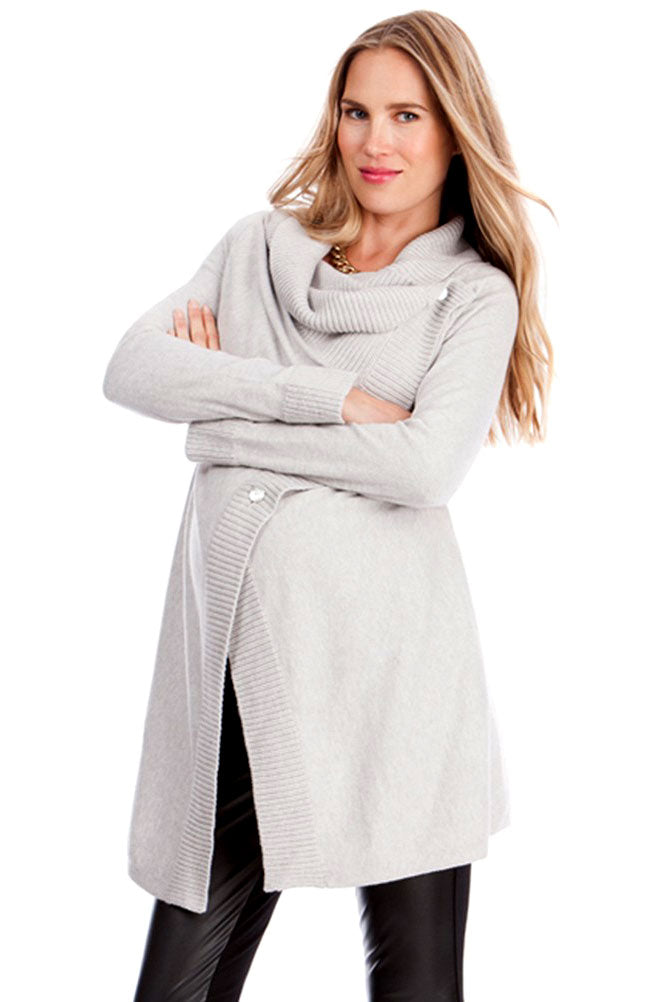 Seraphine Denise Maternity Wrap Cardigan - Seven Women Maternity