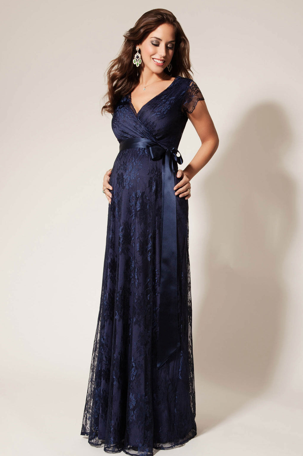 Tiffany Rose Eden Lace Maternity Gown worn by Princesses of Sweden - Seven Women Maternity