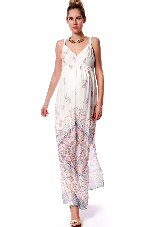 Seraphine Elisha Maternity Nursing Maxi Dress