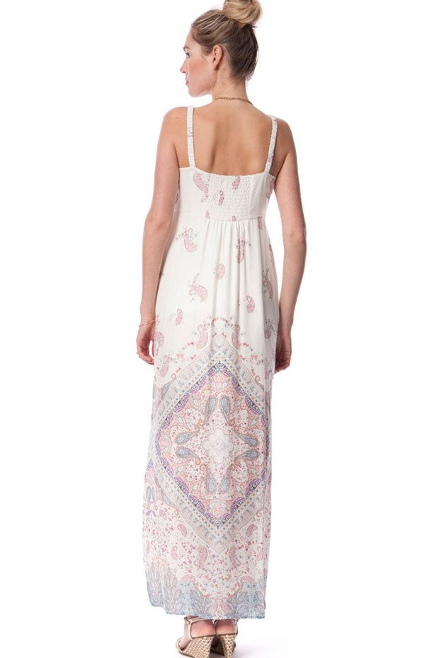 Seraphine Elisha Maternity Nursing Maxi Dress - Seven Women Maternity