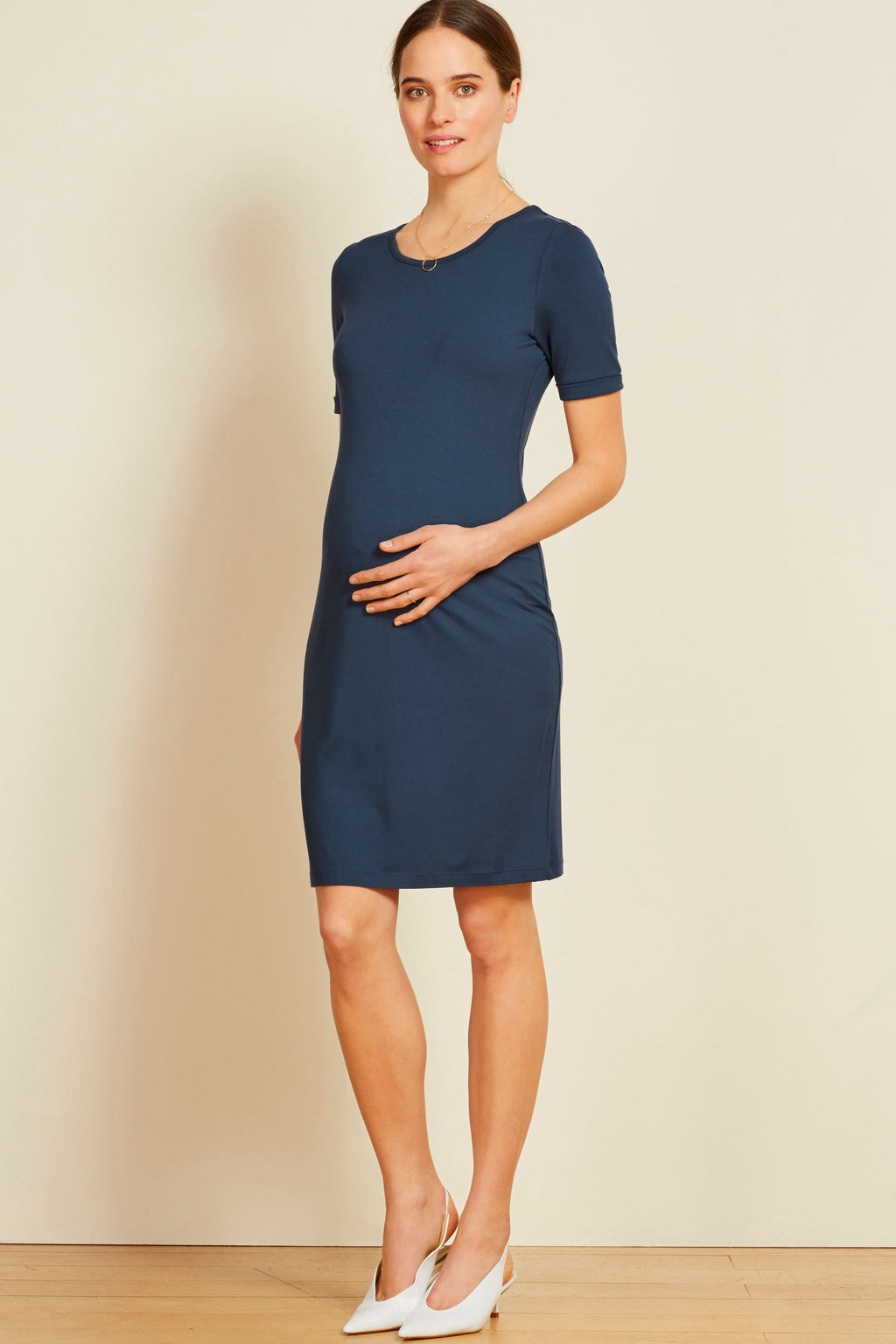 Isabella Oliver Ellie NOT RUCHED Maternity Dress - Seven Women Maternity
