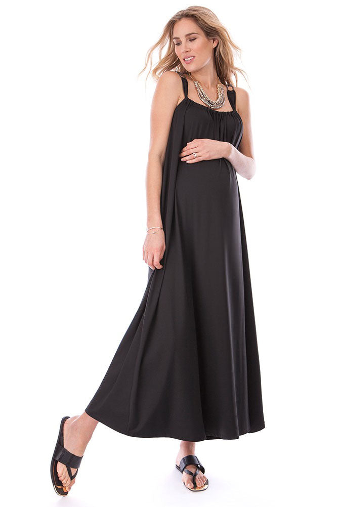 Seraphine Honolulu Maternity Maxi Dress - Seven Women Maternity
