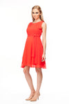 Tiffany Rose Amelia Maternity Stretch Lace Dress in Vintage Rose