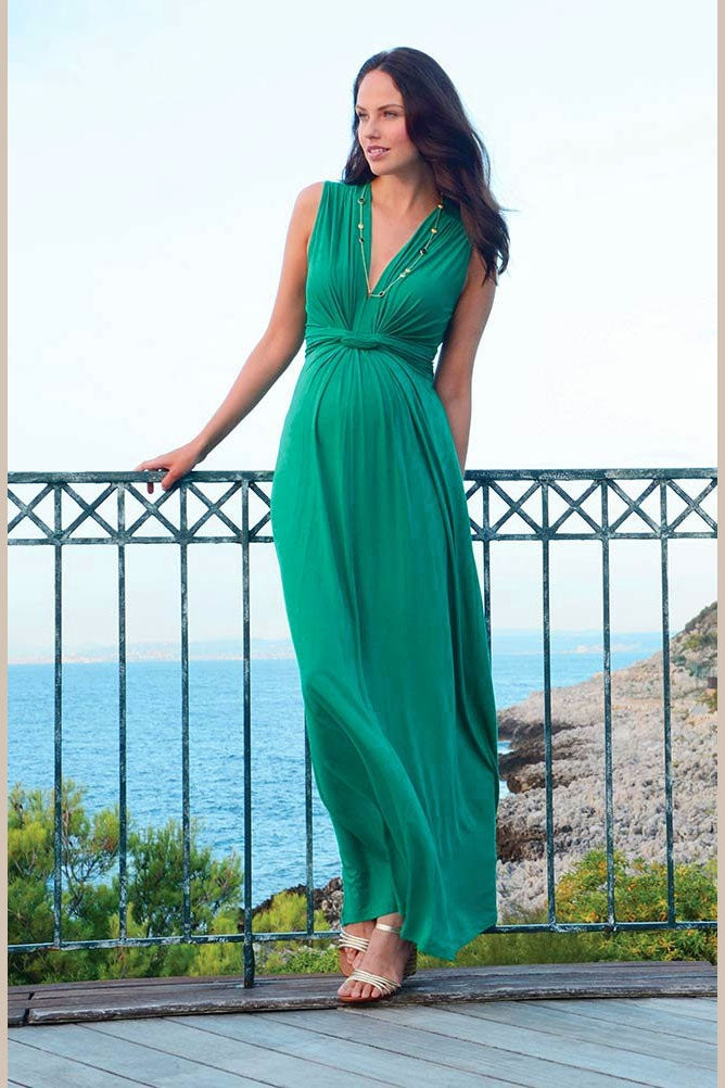 Seraphine Angelina Maternity Maxi Dress