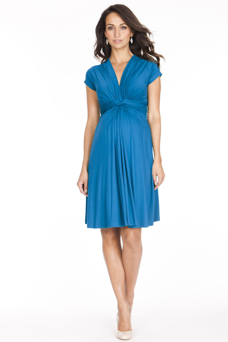 Seraphine Jolene Maternity Dress in Seaside - Seven Women Maternity