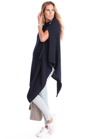 Seraphine Romana Knitted Maternity and Nursing Cape