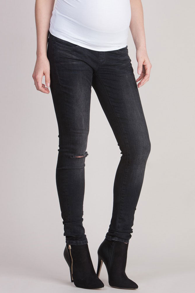 Seraphine Keenan Maternity Distressed Jeans