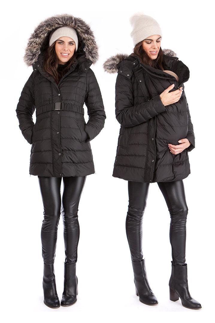 Seraphine Kingston 3 in 1 Down Maternity Winter Coat - Seven Women Maternity