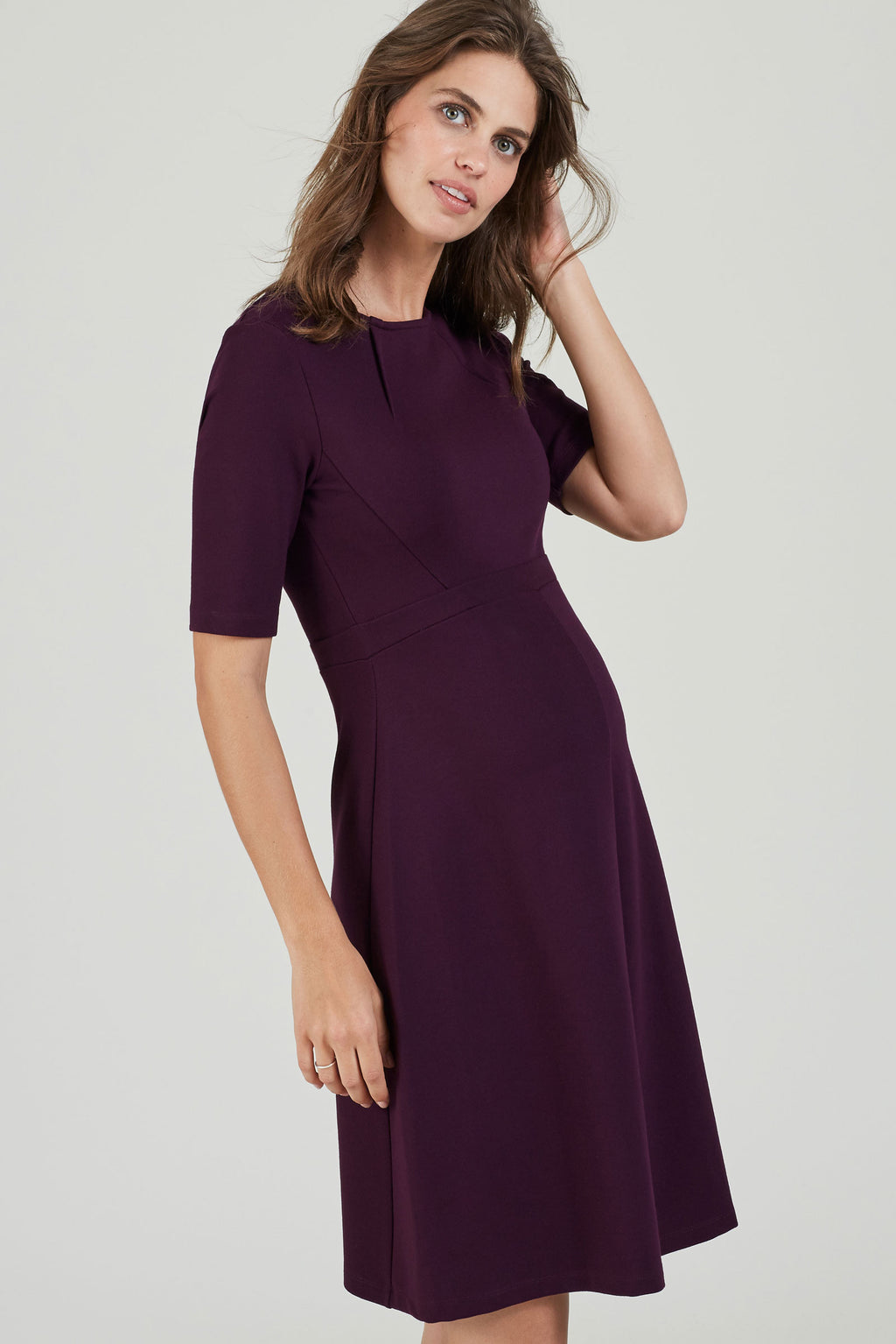 Isabella Oliver Kristen Ponte Maternity Dress