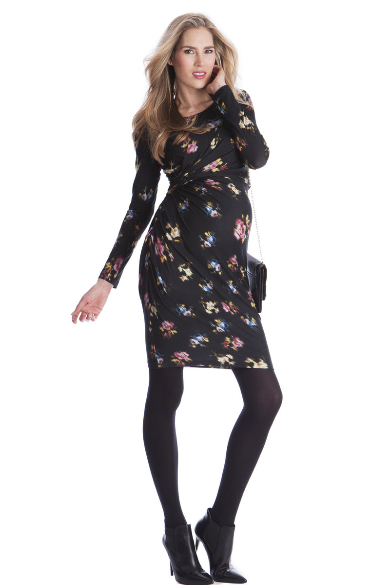 Seraphine Lexie Floral Maternity Nursing Dress