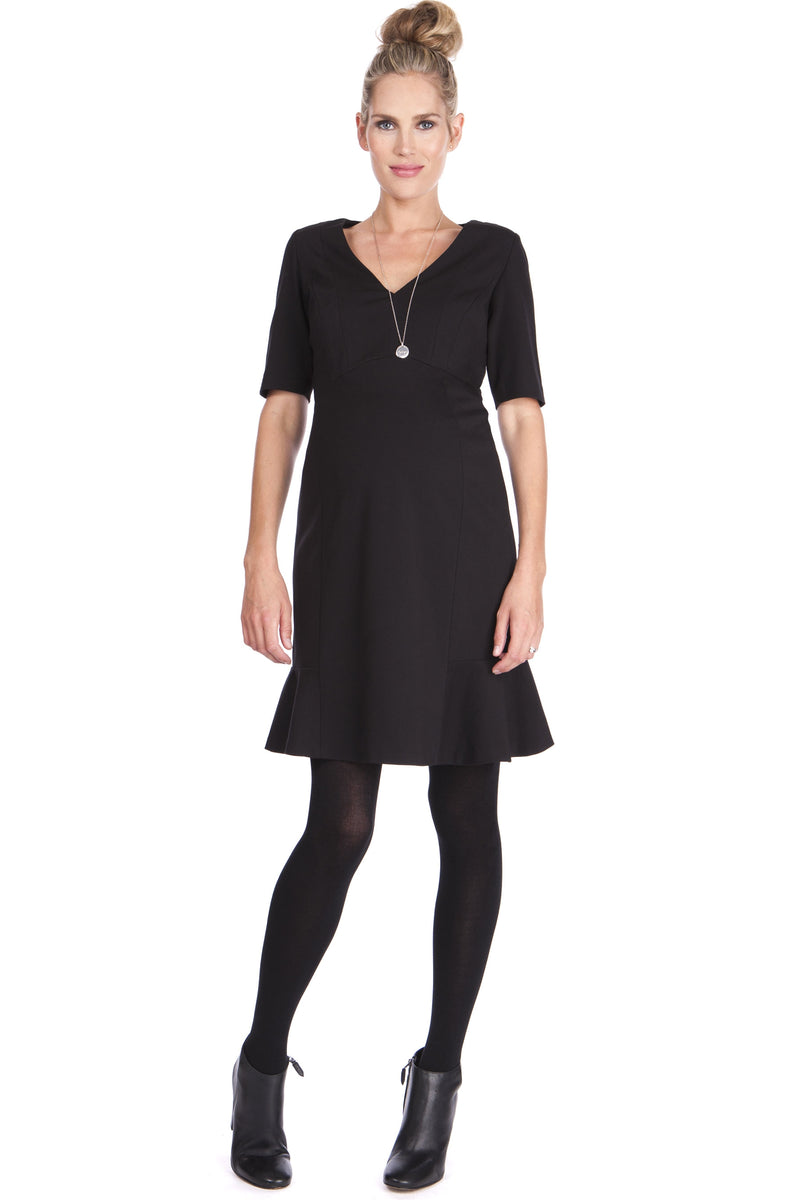 Seraphine Lindsey Ponte Workwear Dress - Seven Women Maternity