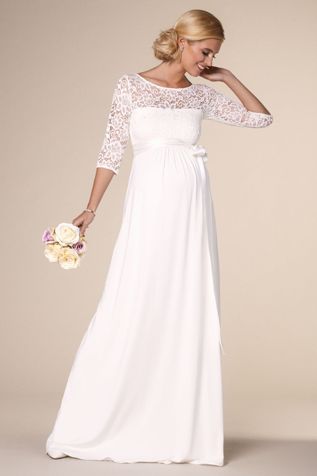 Tiffany Rose Lucia Maternity Wedding Gown - Seven Women Maternity