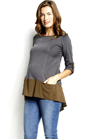 Maternal America Ella Maternity Top